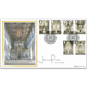 2008 Cathedrals Stamps BLCS 2500 - Signed by Dr Jonathan Foyle