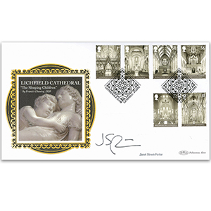 2008 Cathedrals Stamps BLCS 5000 - Signed by Janet Street Porter