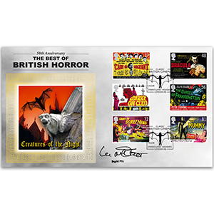 2008 Classic Carry On & Hammer BLCS 5000 Signed Ingrid Pitt