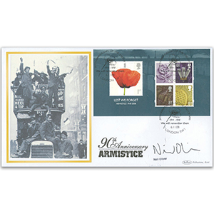 2008 Lest We Forget M/S BLCS 2500 - Signed by Neil Oliver