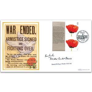2008 Lest We Forget Smilers BLCS 2500 - Signed by General Sir Roger Wheeler GCB