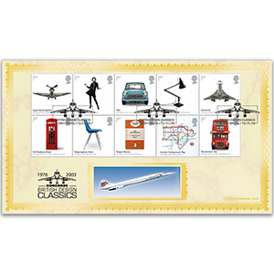 2009 British Design Classics Stamps BLCS 5000