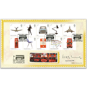 2009 Design Classics Stamps BLCS 2500 - Signed by Peter Hendy CBE