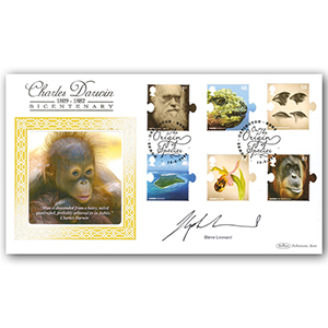 2009 Charles Darwin 200th BLCS 2500 - Signed by Steve Leonard