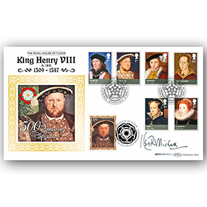 2009 House of Tudor BLCS 5000 - Signed by Keith Michell