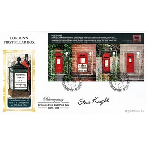 2009 Post Boxes M/S BLCS 2500 - Signed Steve Knight