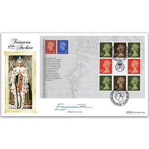 2009 Treasures of Archive PSB Pane 4 - Signed Edward Fox OBE