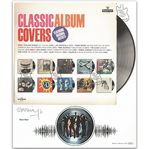 2010 Classic Album Covers signed Simon Mayo