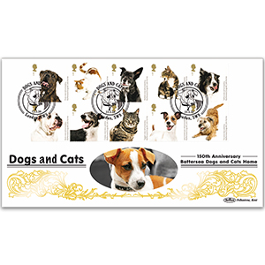 2010 Battersea Dogs & Cats Home Stamps BLCS 5000