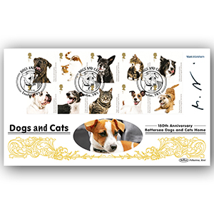 2010 Battersea Dogs & Cats Stamps 5000 - Signed by Marc Abraham