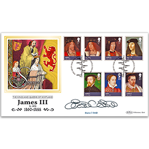 2010 House of Stewart Stamps BLCS 2500 - Signed by Elaine C. Smith