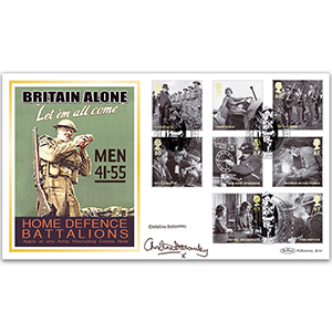 2010 Britain Alone BLCS 5000 - Signed by Christine Bottomley