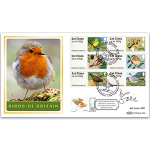 2010 Post & Go - Birds of Britain BLCS 5000 - Signed by Bill Oddie OBE