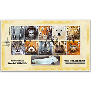 2011 WWF Stamps BLCS 2500 - Signed Doug Anderson