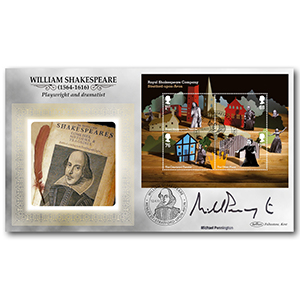 2011 Royal Shakespeare Company M/S Signed Michael Pennington