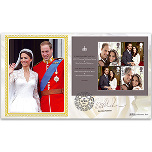 2011 Royal Wedding Day BLCS 2500 - Signed by Tara Palmer-Tomkinson