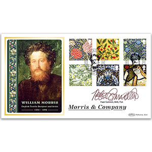 2011 Morris & Company Stamps BLCS 5000 - Signed by Peter Cormack