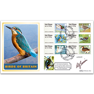 2011 Post & Go - Birds of Britain BLCS 5000 - Signed by Liz Bonnin