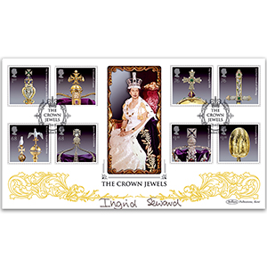 2011 Crown Jewels Stamps BLCS 5000 - Signed Ingrid Seward