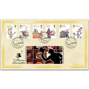 2012 Roald Dahl Stamps BLCS 2500