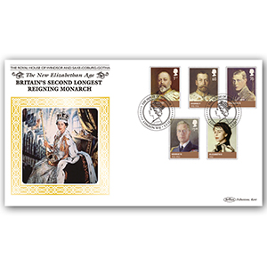 2012 House of Windsor Stamps BLCS 5000