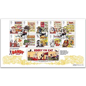 2012 Comics Stamps BLCS 5000