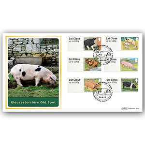 2012 Brit Farm Animals No 2 Pigs BLCS 5000