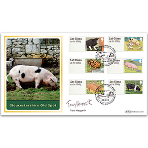 2012 Post & Go Farm Animals BLCS 5000 - Signed by Tony Haygarth