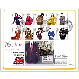 2012 Great British Fashion BLCS 5000 - Signed by Alexandra Shulman OBE