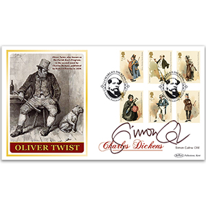 2012 Charles Dickens BLCS 5000 - Signed by Simon Callow