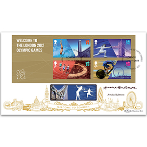 2012 Welcome to the Olympic Games M/S BLCS 2500 - Signed Amelia Bullmore