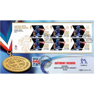 2012 Anthony Joshua GMW DOUBLED 9/4/2016 IBF World Heavyweight Champ