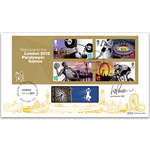 2012 Welcome to the Paralympic Games M/S BLCS 2500 - Signed Lee Pearson CBE