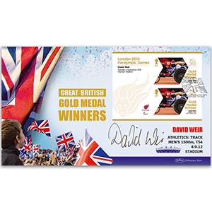 GMW M/S No 51 David Weir BLCS Signed Cover
