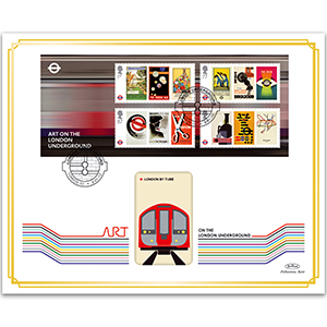2013 150th Anniversary London Underground M/S BLCS 5000