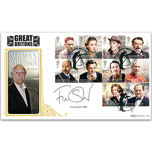 2013 Great Britons BLCS 5000 - Signed Fiona Shaw CBE