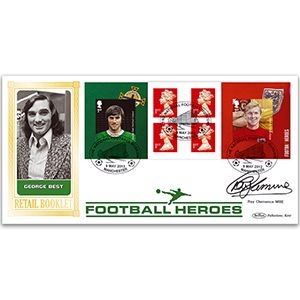 2013 Football Heroes Retail Bklt BLCS 2500 - Signed Ray Clemence