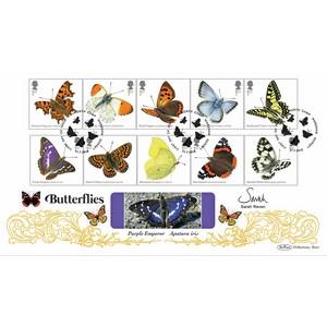 Sarah Raven signed Butterflies Stps BLCS 2500
