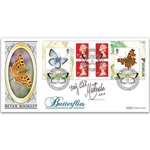 2013 Butterflies Retail Booklet BLCS 2500 - Signed Michaela Strachan
