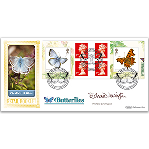 2013 Butterflies Retail Booklet BLCS 5000 - Signed Richard Lewington