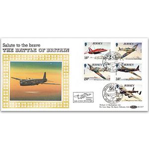 1990 Jersey - Battle of Britain BLCS - Flown in a Lancaster
