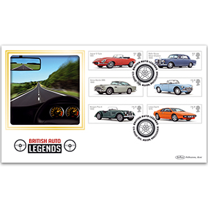 2013 British Auto Legends Stamps BLCS 5000