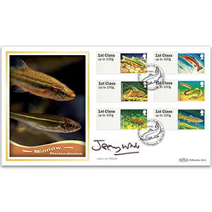 2013 Post & Go freshwater Life - Rivers BLCS 2500 Signed Jeremy Wade