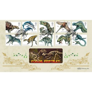 2013 Dinosaurs Stamps BLCS 2500