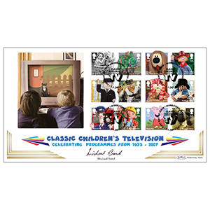 2014 Classic Childrens TV Stamps BLCS 2500 - Signed Michael Bond