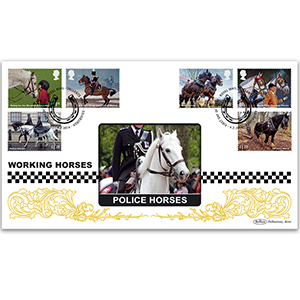 2014 Working Horses Stamps BLCS 2500