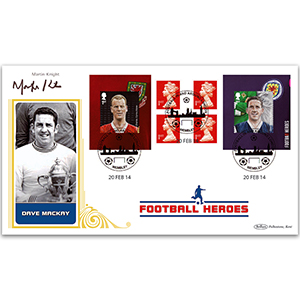 2014 Football Heroes Retail Booklet No.2 BLCS 2500 - Signed Martin Knight