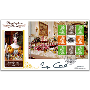 2014 Buckingham Palace PSB BLCS Cover 4 - Pane 3 Definitives - Signed Rufus Sewell