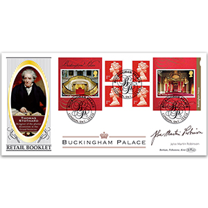 2014 Buckingham Palace Retail Booklet BLCS 5000 - Signed by John Martin Robinson