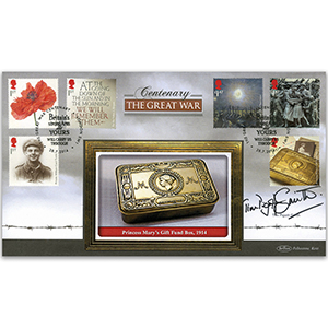 2014 The Great War Stamps BLCS 2500 Signed Tim Piggot-Smith
